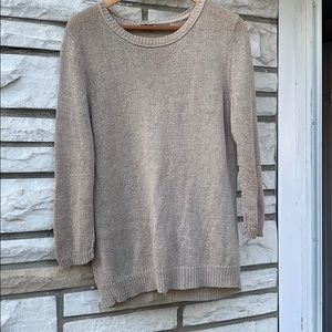 360 Sweater, gray, Knitted style, size M